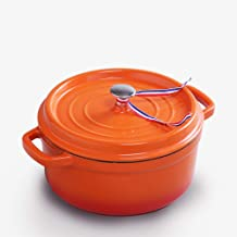 ASOD Cast iron enamel pot stew pot soup pot commercial enamel pot thickened cast iron pot 24cm