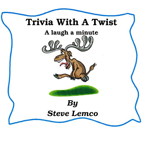 Trivia with a Twist: A Laugh a Minute audiobook cover art