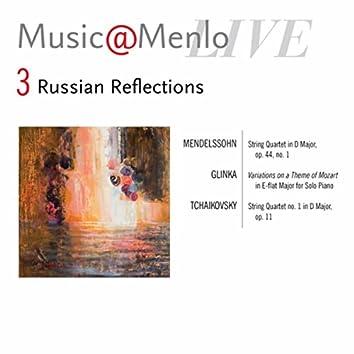 Music@Menlo Live, Russian Reflections, Vol. 3