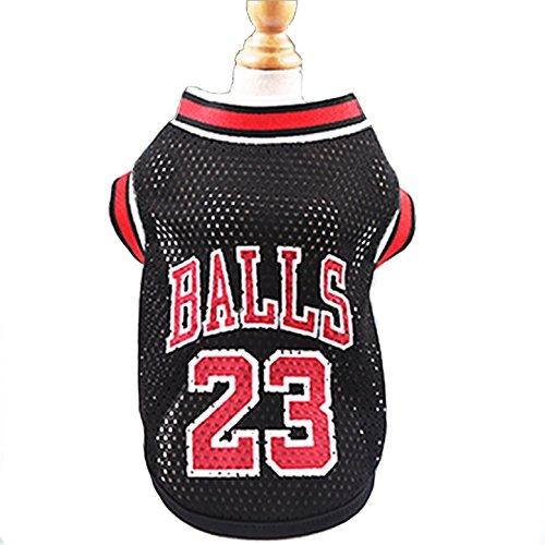 KayMayn Kleidung für kleine Hunde,Hunde Trikot Fußball Basketball Jersey T-Shirt Welpen T-Shirt für Hunde Kostüme Weltmeisterschaft Mannschaft Kleidung