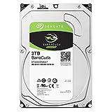 Seagate BarraCuda 3.5インチ 3TB 内蔵ハードディスク HDD 2年保証 6Gb/s 256MB 5400rpm 正規代理店品 ST3000DM007