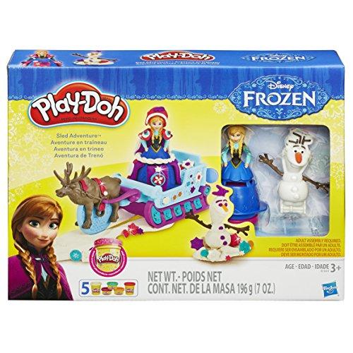 Play-Doh - B1860eu40 - Pâte À Modeler - Traineau - Reine des Neiges