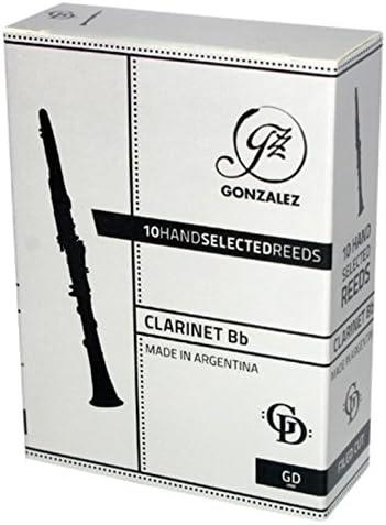 Gonzalez Bb Clarinet Max 44% OFF GD Reeds 3 2 Rapid rise 4