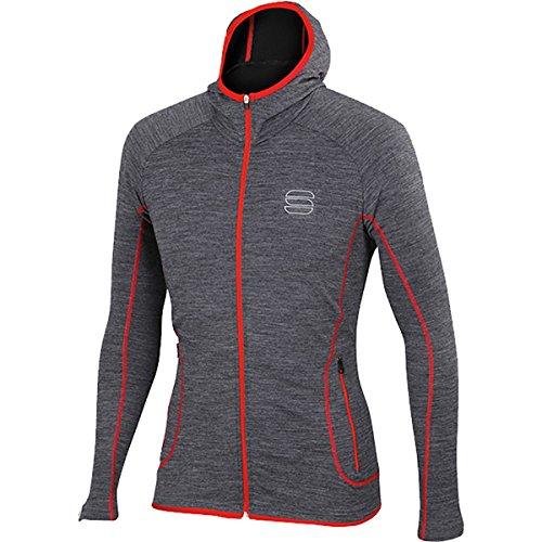 Sportful – Terra Zip Hoody, Couleur Dark Grey Taille L