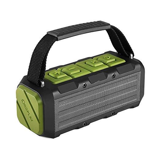 Qiyan Ipx7 Altavoz Bluetooth inalámbrico a Prueba de Agua 20w Alta fidelidad de Sonido Altavoz portátil al Aire Libre con función de Banco de energía en Altavoces portátiles