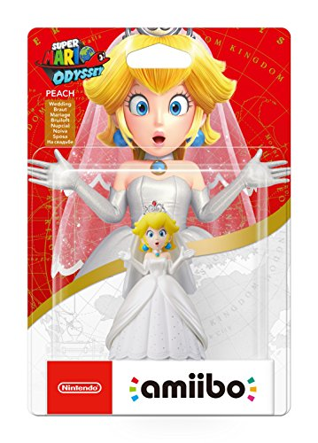 Nintendo - Colección Super Mario, Figurina Amiibo Peach
