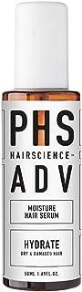 PHS HAIRSCIENCE ADV Moisture Hair Serum, 50 milliliters