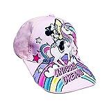 Gorra Infantil con Visera Minnie Mouse, Nuevo Modelo Unicornio, Ideal para niñas 3/12...