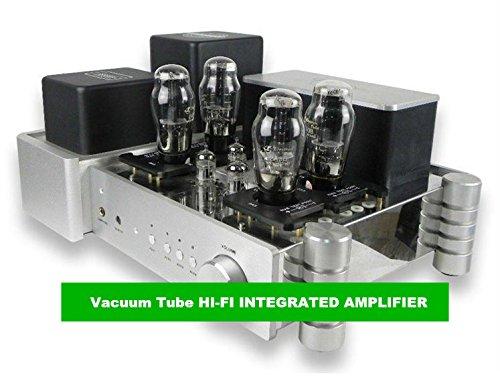 GOWE Vakuum-Röhre HI-FI integrierter Verstärker Ausgangsleistung 14 W + 14 W (8 Ohm)