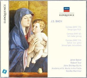 Bach, J.S,: Cantatas Nos.170, 82 & 159