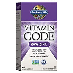 Zinc with vitamin C: Our Zinc supplement provides whole food nutrition with 30mg of RAW Zinc (over 250% of the new daily value) plus 60 milligram of raw vitamin C, both in a whole food form for optimal nutrient absorption and utilization Natural cofa...