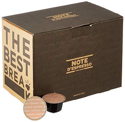 Note D'Espresso - Kapselmaschinen - ausschließlich Kompatibel mit Nescafé* und Dolce Gusto*- Cortado - 6,3g x 48
