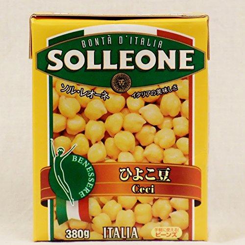 SOLLEONE ソル・レオーネ Ceci ひよこ豆 380g(テトラ紙パック) 1ケース(16パック)