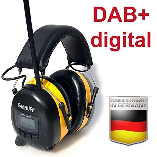 Originele EARMUFF 31dB gehoorbescherming met DAB+/FM-radio en accu