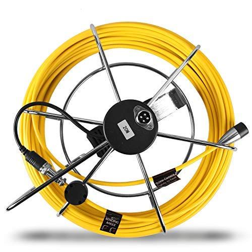 Sostituzione Cavo Avvolgicavo per Aukfa 20 Metri Telecamera Videoispezione per Tubi