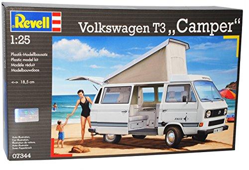 Lucky Die Cast Volkwagen T3 T 3 Transporter Camper Bus 07344 Bausatz Kit 1/24 Revell Modellauto Modell Auto