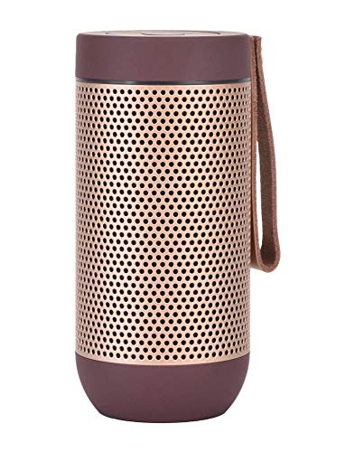 Kreafunk - aFUNK Bluetooth Speaker Pflaume-Gold