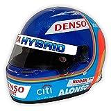 Réplica 1:2 Casco Fernando Alonso 'Toyota Gazoo Racing 2018-19'