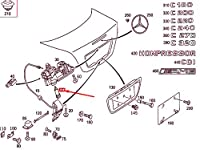 MB C W203 トランク リッド ロック シリンダー A2037500191 NEW GENUINE