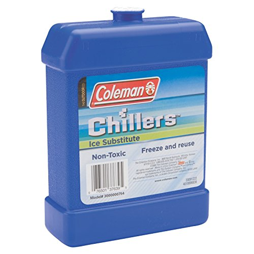 Coleman Company Chillers Large Ice Substitute Hard Packs, Blue