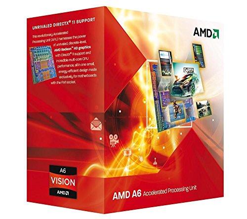AMD AD3600OJGXBOX A6-3600 Prozessor (2,4GHz, Sockel FM1, 4MB L2-Cache, 65 Watt)