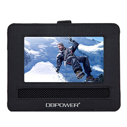DBPOWER Car Headrest Mount Holder Strap Case for Swivel & Flip Style Portable DVD Player (9.5 inch)