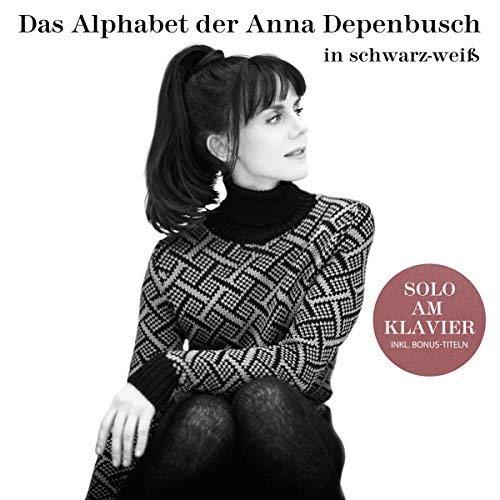 Das Alphabet der Anna Depenbusch in Schwarz-Weiß