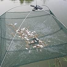 1 St/ück Krebse longyitrade Faltbare Angelnetz Fische Auffangkorb zum Fangen von Krabben