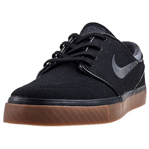 Nike Zoom Stefan Janoski Cnvs, Zapatillas de Skateboard para Hombre, Negro (Blackanthracitegum Med Brown 020), 47.5 EU
