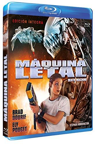 Death Machine 1994 Blu ray Region B (Spanish Release) plays in English