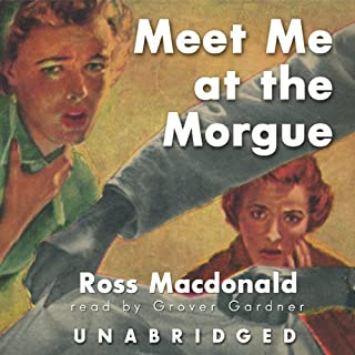 Meet Me at the Morgue audiobook cover art