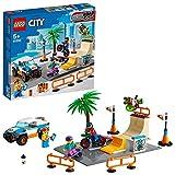 LEGO City Skate Park, Playset con Skateboard, Bici BMX, Camion Giocattolo e Minifigure di ...