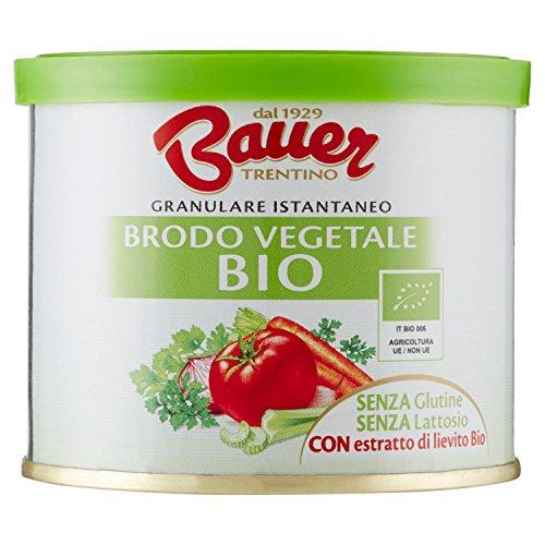 Bauer Brodo Granulare Istantaneo Vegetale Bio - 120 g