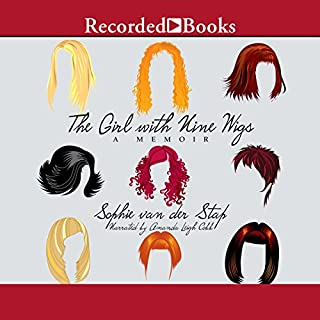 The Girl with Nine Wigs audiobook cover art