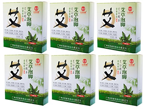 Check Out This Foot Reflexology Chinese Medicine Foot Bath Powder Kits Cold Blood (6X)