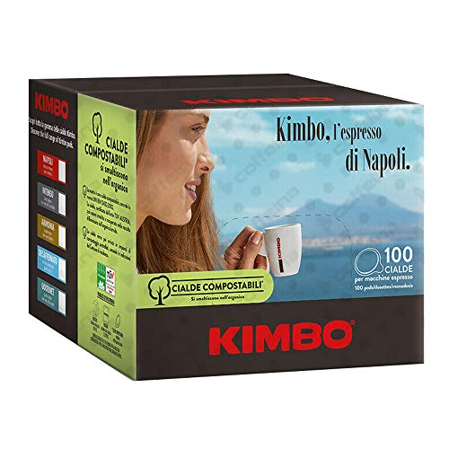 300 Cialde Carta Ese 44mm Caffè Kimbo Miscela Armonia 100% Arabica