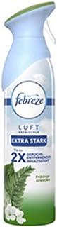 Febreze Désodorisant (300 ml) extra puissant réveillon printanier, spray d'ambiance, élimine les odeurs et laisse un parfu...