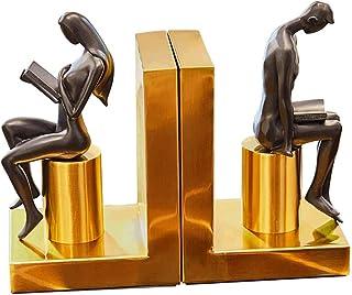 ينتهي كتاب الدفاتر المزخرف للمكتب تمثال راتينج ذو قاعدة معدنية للمكتب قراءة كتاب للزوجين ينتهي لعقد الكتب