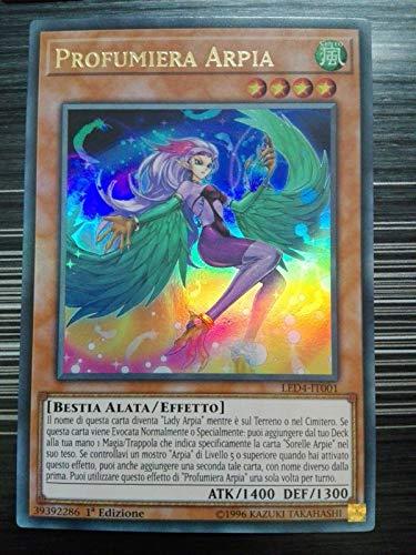 Yu-Gi-Oh! Profumiera Arpia - LED4-IT001 - Ultra Rara - Italiano