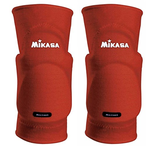 Mikasa Kobe Knieschoner für Erwachsene, rot, SR