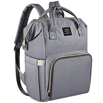 Land Baby Bag Backpack Stylish Diaper Bag Designer Baby Back Pack for Mom Dad