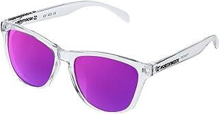 NORTHWEEK Lunettes de soleil ALL Bright white | lentille violet polarisée