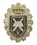 Placa Metalica Brigada Paracaidista. Especial para Cartera de Bolsillo
