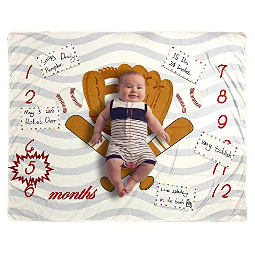 Product Image of the Monthly Milestone Blanket