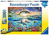 Ravensburger 12895 Dolphin Paradise 300 Piece Puzzle for Kids - Every Piece is Unique, Pieces Fit Together Perfectly