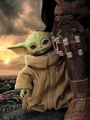 TTLDB Rompecabezas - 1000 Piezas de Rompecabezas de película Baby Yoda para Adultos y niños - Juego Educativo, Intelectual, Divertido y Familiar