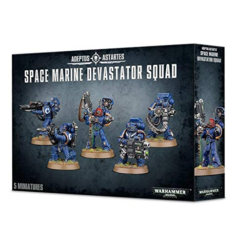 "GAMES WORKSHOP 99120101231"" Space Marine Devastator Squad Plastic Kit"