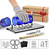 Bottle Cutter & Glass Cutter Kit, for Cutting Wine Bottle or Jars to Craft Glasses