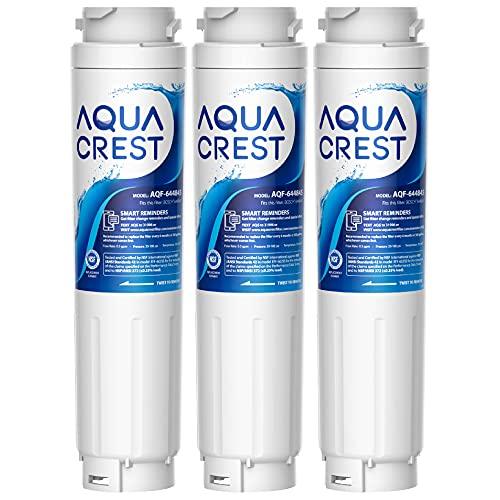 AQUACREST Filtro Acqua Frigorifero, Compatibile con Bosch UltraClarity 644845, 00740560, 740560, 00499850, 00649379, 9000194412, 9000077104, MIELE Haier 0060820860, 0060218743 (3)