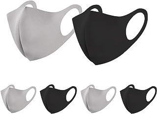 マスク 初秋に最適 洗える 快適 UVカット 立体構造 繰り返し使える 6枚入り 男女兼用